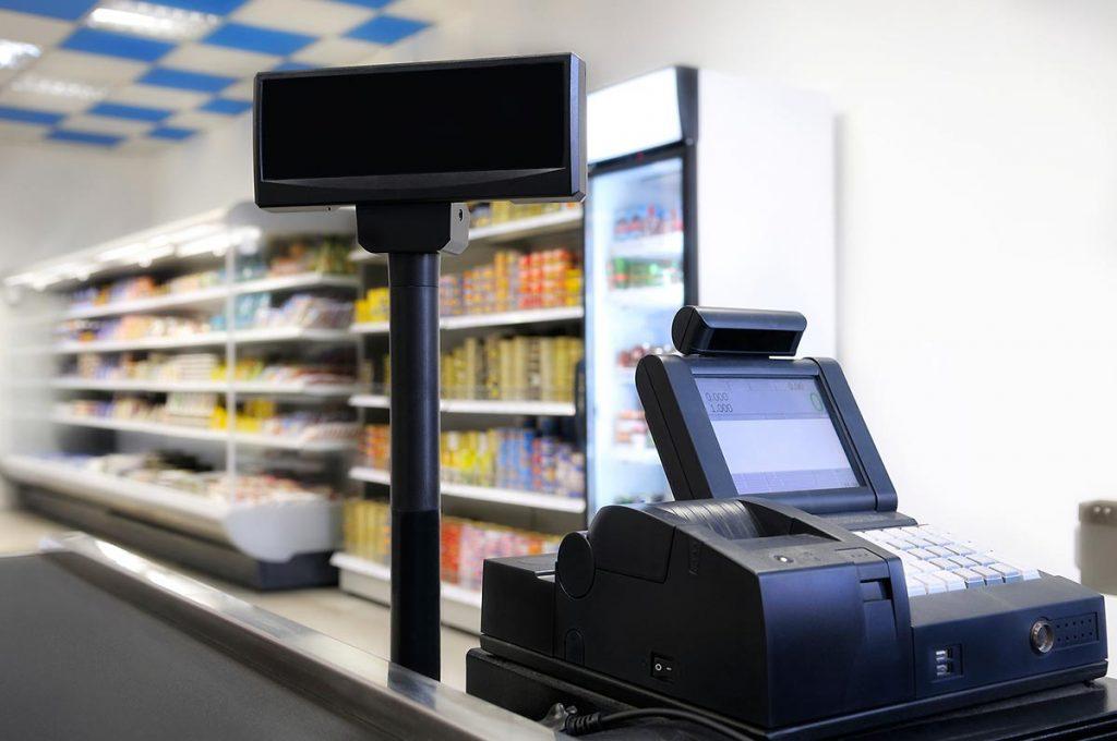 Онлайн-касса для магазина продуктов