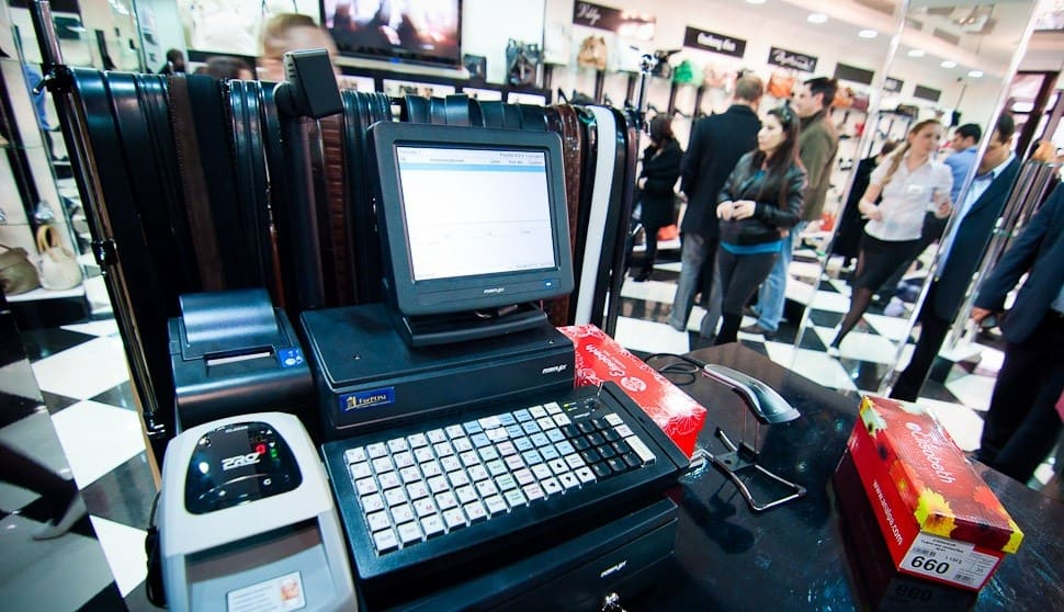 Кассовое оборудование для магазина одежды